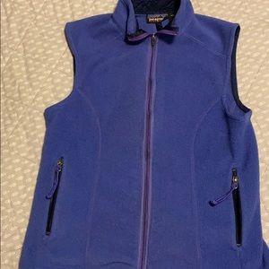 Patagonia fleece vest.